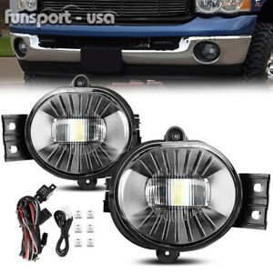 For 2002 2008 Dodge Ram 1500 2500 3500 Led Fog Light 2004 2006 Dodge Durango Us