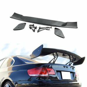 Gt style 57 Inch Universal Rear Spoiler Trunk Wing Lip Fit For Benz Honda Audi