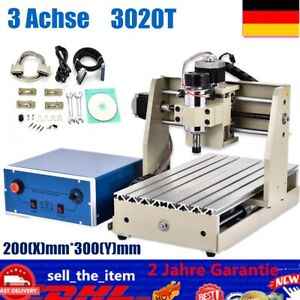 3 Axis 300w Cnc 3020 Router Drill Wood Metal Pcb Carver Cutter Engraving Machine