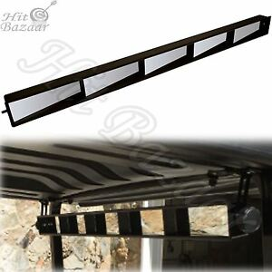 5 Panel Golf Cart Mirror Universal Wink Panoramic Rear View Club Car Visibility