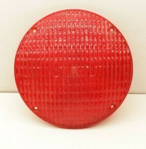 7 Truck Lite Vintage Red Cats Eye No 55 No 9060 Tail Stop Light Lens Sae Wis 63