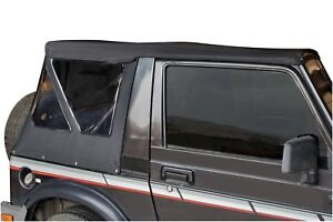 Ram Soft Top Tint Windows Black Top Has Zip Out Windows 86 94 For Suzuki Samurai