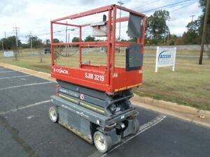 2013 Skyjack Sjiii3219 19 Electric Slab Scissor Lift 19ft Platform Lift Man Lift
