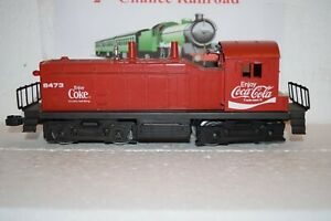 O Scale Trains Lionel Coca Cola Switch Engine 8473 Powered Working