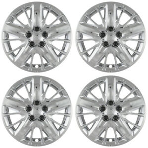 Brand New 18 Chrome Hubcaps Set Of 4 For 2014 2015 2016 2017 Chevrolet Impala