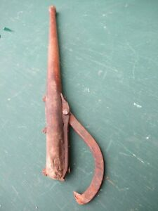 Vintage Cant Hook 31 Log Roller Peavey Lumber Jack Mill Very Old