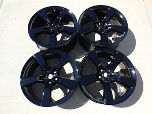 2010 11 12 2013 Factory Oem Ss Camaro 20 Wheels Gloss Black Oe Rs 2ss