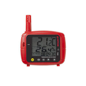 Amprobe Tr300 Temperature Rh Data Logger With Real Tme And Usb Cable