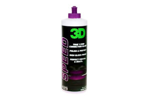 3d Speed Aio All In Cleaner Polish And Sealant One Step Paint Protection 16oz