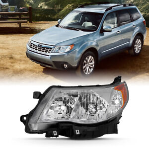 09 13 Subaru Forester Chrome factory Style Headlight Replacement Left driver