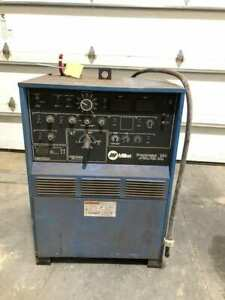 Miller Syncrowave 350 Constant Current Ac dc Tig Welding Power Source 16 9kw 1ph
