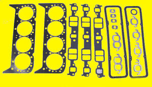 Sbc Small Block Chevy Gaskets Sbc 400 6 6l V8 Complete Full Kit