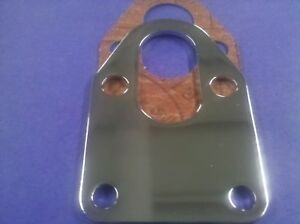Sbc Chevy Chrome Fuel Pump Mounting Plate New