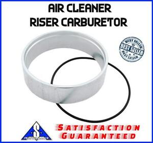 Air Cleaner Spacer 1 1 2 Aluminum Riser Carburetor Fits Holley Sbc Bbc Chevy