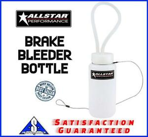 Allstar All11019 Brake Bleeder Catch Bottle Plastic 16 Oz