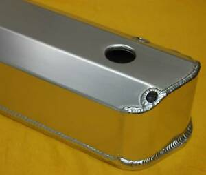 Ford 302 351w 5 0 Fabricated Valve Covers With Holes Small Block Sheet Medal
