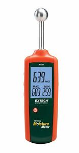 Extech Mo257 Pinless Moisture Meter With 78 1 6 Inch Depth