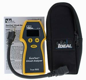 Ideal Industries Inc 61 164 Suretest Circuit Analyzer Catiii For 300v