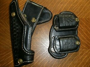 Ernie Hill 625 competition Holster for an Compensated 1911 RH Black