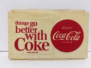 Things Go Better With Coke Coca Cola Sign Button Vintage
