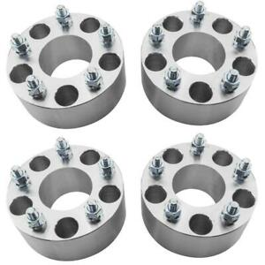 4pc 2 5 Wheel Spacers Adapters 5x4 75 5x120 6 Mm 70 5mm Cb For Cadillac Xlr