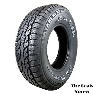 4 Four New 235 75r15 Trail Guide All Terrain 109s 2357515 R15 Tgt64 Tire
