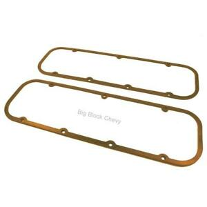 Bb Chevy Cork Steel Core Extra Thick Valve Cover Gasket V8 396 427 454 Big Block