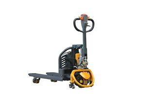 New Walkie Electric Pallet Jack Truck Ept 15c Lithium Ion 3300 Lbs Pickup Only