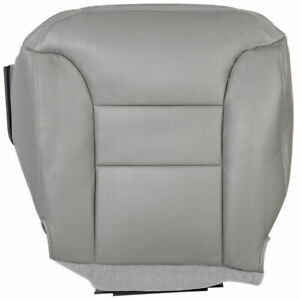 For 1995 1996 1997 1998 1999 Chevy Tahoe Lt Ls Driver Bottom Seat Cover Gray