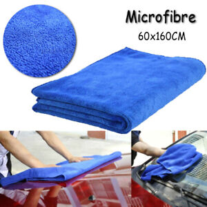Car Microfiber Towel Car Wash Cleaning Drying Cloth Home Kitchen Use 60 160cm