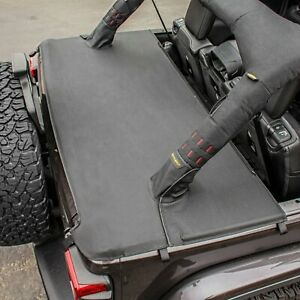 Smittybilt 771335 in Stock Tonneau Cover 18 20 Jeep Wrangler Jl Unlimited 4dr