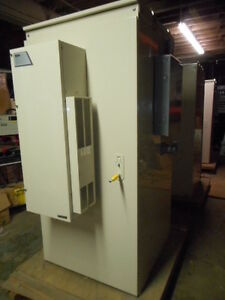 Emerson Outdoor Enclosure With Hvac Cabinet Commscope