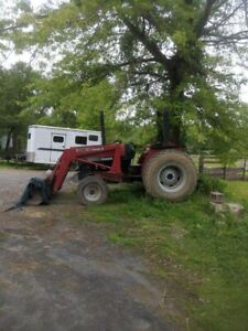 Case 3220 2 Wheel Drive 53hp Tractor With Front End Loader 6 Brush Hog