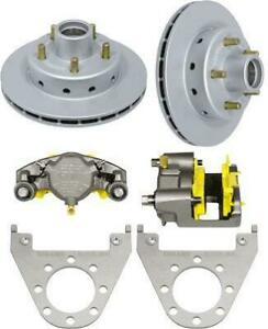Deemaxx Integral Boat Trailer Disc Brake Kit 5 Lug With Maxx Coated Calipers