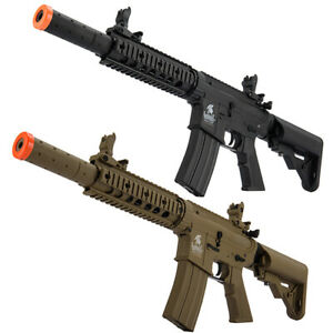 Lancer Tactical Gen2 M4 CQB RIS SD AEG Airsoft Rifle w Battery amp; Charger LT 15 $169.00