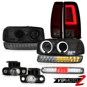 99 02 Sierra Sle Taillamps Roof Brake Lamp Fog Lamps Signal Headlights Light Bar