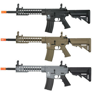 Lancer Tactical Gen2 M4 10quot; KeyMod RIS Airsoft Rifle w Battery amp; Charger LT 19 $169.00