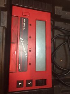 Snap On Mt2500 Brick Scanner Cartridges Adapters Personality Keys And Case