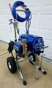 Graco Ultra Max Ii 795 Electric Airless Paint Sprayer 1595 1095 695