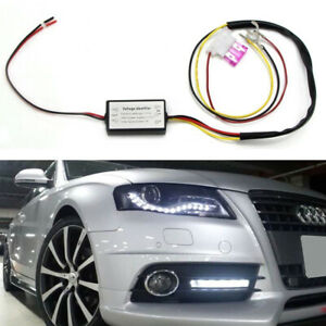 Automatic On Off Relay Module Box Universal For Drl Led Daytime Running Light
