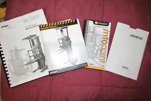 Crown Forklift Sp 3400 Service Parts Operator Manual Infopoint Schematics
