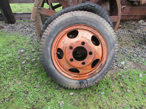 Original 1935 1936 1937 Ford 1 1 2 Ton 20 Stake Bed Truck Wheel