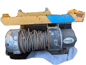 Ramsey Hydraulic Winch 15 Ton With Fairlead And Frame
