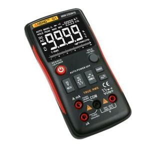 Aneng True rms Digital Multimeter Button 9999 Counts With Analog Bar Graph Cx