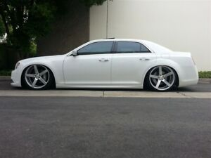 Universal Air Suspension 2011 Chrysler 300 Dodge Charger Complete Kit Accuair