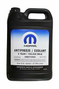 Mopar 68048953ac 5 Year 100 000 Mile Coolant Hoat Antifreeze New Free Shipping