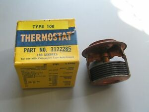 Nos Harrison Brass 180 Degree Thermostat 1933 1953 Buick Straight Eight