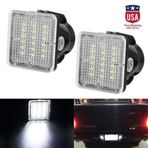 18 Smd Led License Plate Lamp Lights For 2016 2019 Toyota Tacoma 14 19 Tundra Us