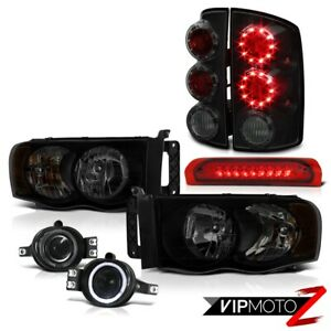 2003 2005 Dodge Ram 2500 St Headlights Foglights Red Roof Brake Light Taillamps