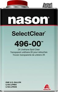 496 00 2k Urethane Clear Coat Spot Clear Gallon With 483 78 79 Activators Kit